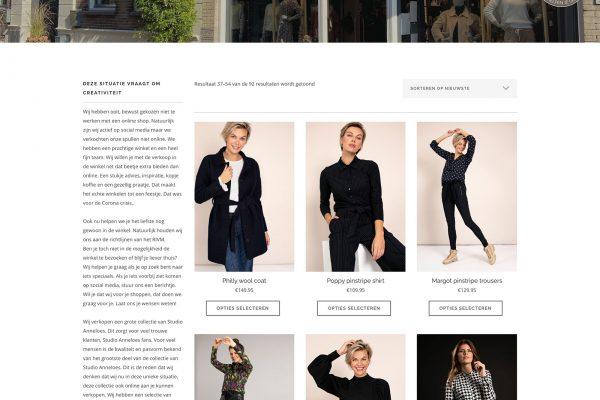 Webshop kledingwinkel Wageningen