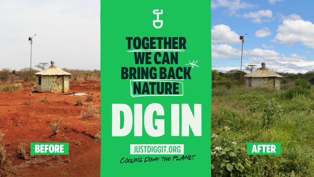 Werk aan jouw eigen toekomst en die van een groener afrika